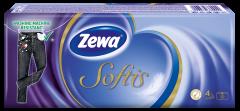 Batiste nazale Zewa Softis Neutral, 4 straturi, 10x10 bucati