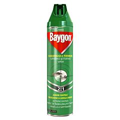 Spray gandaci si furnici Baygon 2in1 400ml