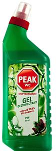 Gel pentru dezinfectarea si parfumarea toaletei Peak Pine750ml