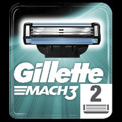 Rezerve aparat de ras Gillette Mach3, 2 bucati