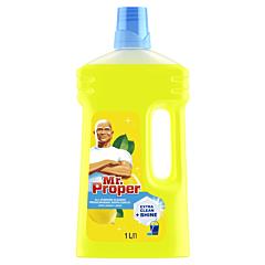 Detergent universal pentru podele Mr. Proper Lemon, 1 l