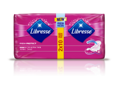 Absorbante Libresse Ultra Normal Duo 20 bucati