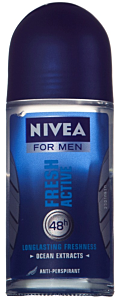 Deodorant antiperspirant roll on 50ml Nivea for Men Fresh Active