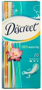 Absorbante zilnice Discreet Deo Waterlily Multiform 20buc
