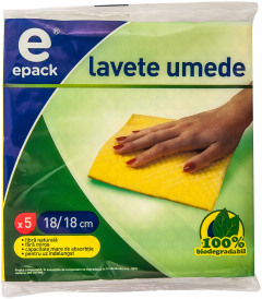 Lavete umede E Pack 5 buc
