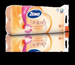 Hartie igienica Zewa Deluxe Cashmere peach, 3 straturi, 10 role