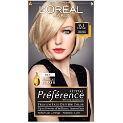 Vopsea de par L'Oreal Preference Z9.1 - Viking very light ash blonde
