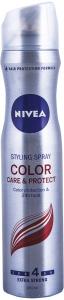 Fixativ color care & protect Nivea 250 ml