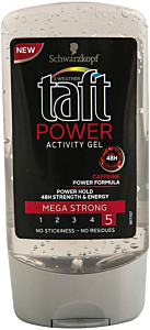 Gel de par Power Activity Gel Taft