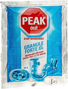 Plic granule pentru desfundat tevile Peak Granule Forte Apa rece 60g