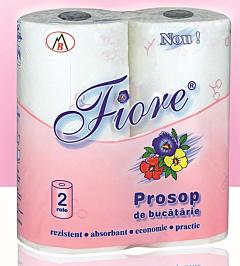 Prosoape de bucatarie Fiore 2 straturi 2 role