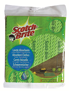 Lavete absorbante Scotch Brite 3buc