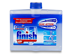 Solutie de curatat masina de spalat vase Calgonit Finish Dual Action 250ml