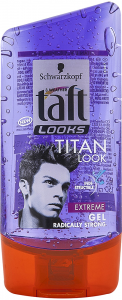 Gel par Taft Titan Look 150ml