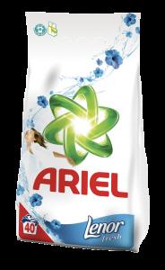 Detergent automat Ariel Lenor Fresh 4kgh