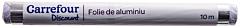 Folie de aluminiu Carrefour Discount 10m