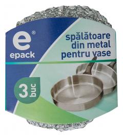 Bureti din metal pentru vase Epack 3buc