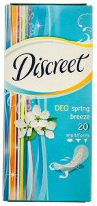 Absorbante Discreet Deo Spring Breeze Multiform 20buc