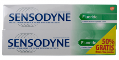 Pasta de dinti Sensodyne Fluoride 100ml 1+1-50% gratis