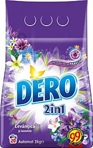 Detergent automat 2in1 cu levantica si iasomie Dero Flori Balsam 2kg