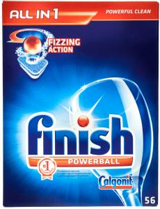 Detergent tablete pentru masina de spalat vase Calgonit Finish 56buc
