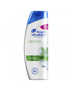 Sampon anti-matreata Head&Shoulders Menthol, pentru par gras 400ml