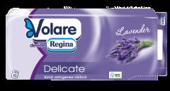 Hartie igienica cu parfum de levantica Volare Delicate 3 straturi 10 role