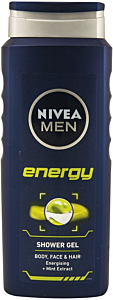 Gel pentru corp si par Energy Nivea Men 500 ml