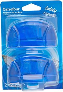 Rezerva odorizant WC lichid parfum marin Carrefour 2x55ml