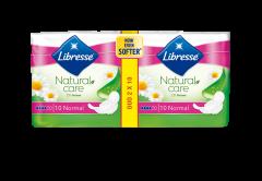 Absorbante Libresse Natural Care  Normal Duo 20 bucati