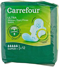 Absorbante ultra super plus Carrefour 12 buc