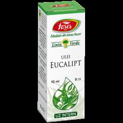 Ulei esential de Eucalipt, R19, 10 ml, Fares