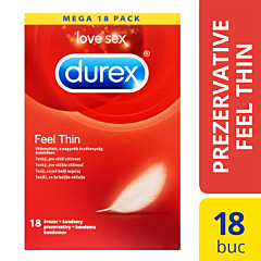 Prezervative Durex Feel Thin 18bucati