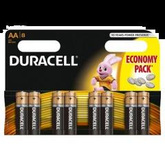 Set x 8 baterii  Duracell AAK8, R6
