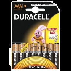 Set x 8 baterii Duracell AAA LR03