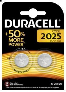 Set x 2 baterii Duracell DL/CR 2025