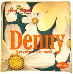 Servetele de masa Denny 1 strat 33x33cm portocalii 100buc