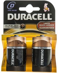 Baterii Alcaline D LR20 Duracell 2buc