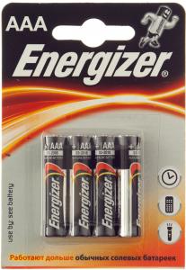 Baterii alcaline AAA LR03 1.5V Energizer 4buc