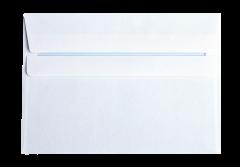Set x 10 plicuri C6 Alb autoadeziv