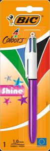 Pix Bic 4 Colours Shine,  1 bucata