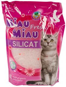 Astenut fresh pentru pisici Miau Miau 8L