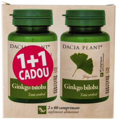 Ginkgo biloba Dacia Plant 1+1 cadou
