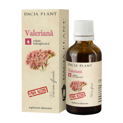 Tinctura fara alcool Valeriana Dacia Plant 50ml