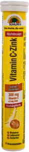 Tablete efervescente cu gust de lamaie, cu vitamina C si zinc Sun Life