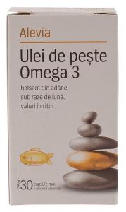 Ulei de peste Omega 3 Alevia 30 capsule