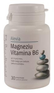Magneziu si Vitamina B6 Alevia 30 comprimate