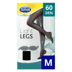 Ciorapi compresivi 60 DEN, marime M Scholl Light Legs