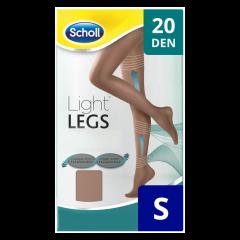 Ciorapi compresivi 20 DEN bej, marime S Scholl Light Legs