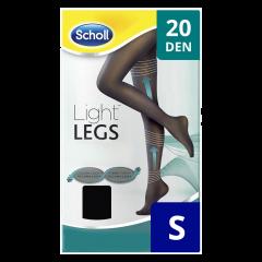 Ciorapi compresivi 20 DEN negru, marime S Scholl Light Legs